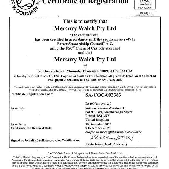 Mercury Walch - FSC